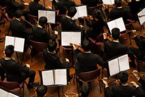 Orchestermusiker in britischen Internaten