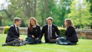 Unsere Partnerinternate in England: Hier Schüler der Culford School
