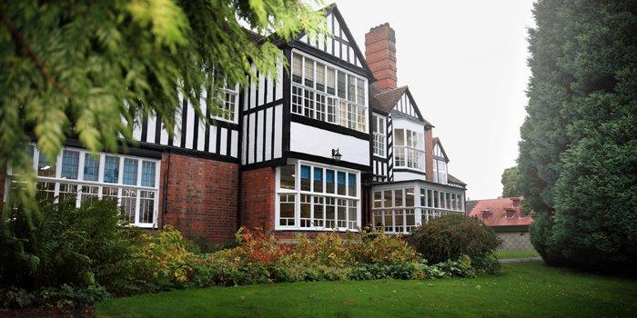 Gebäude der Oswestry School in England