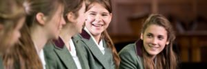 Schüler der Oswestry School in England