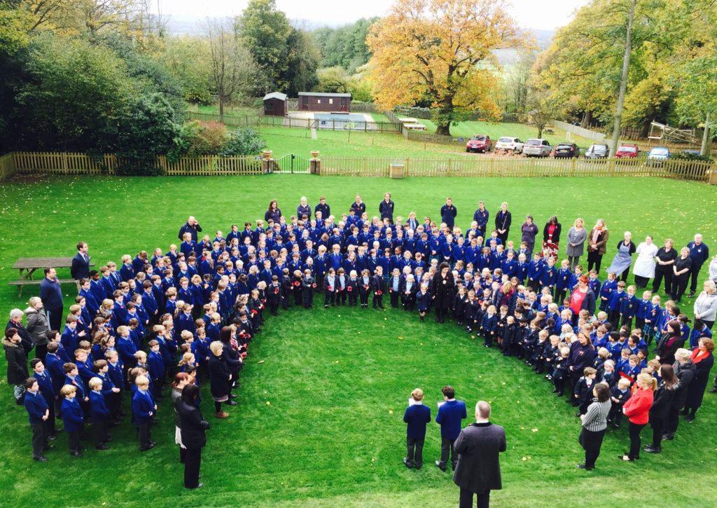 Unsere Partnerinternate in England: Hier Schüler der Sutton Valence School beim Musizieren