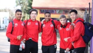 Fussballteam der Buckswood School