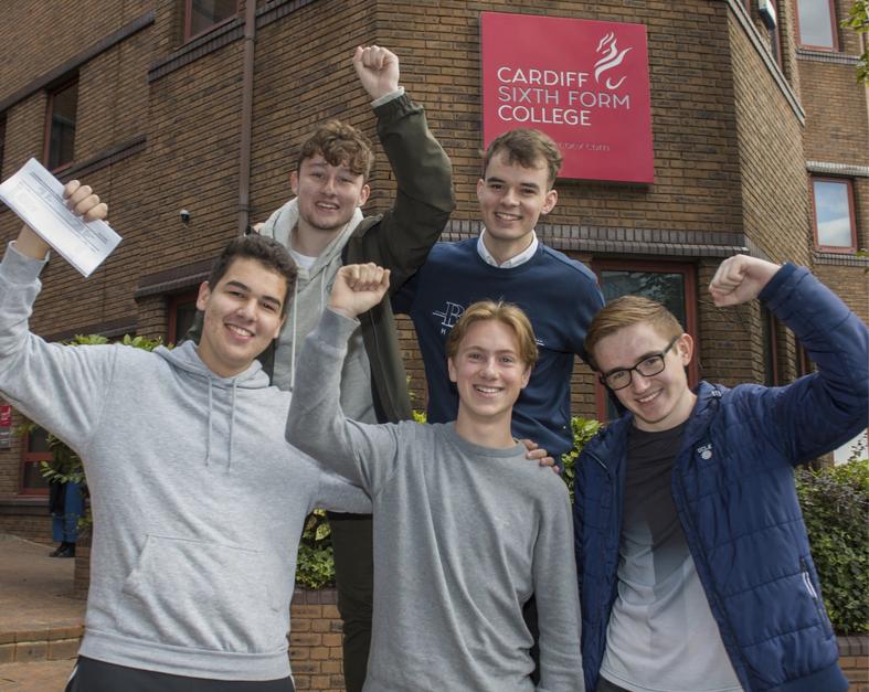Internat in Großbritannien Cardiff Sixth Form College