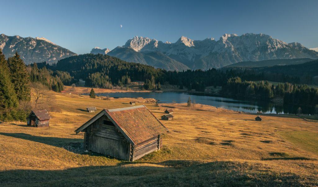 Landschaft in Bayern