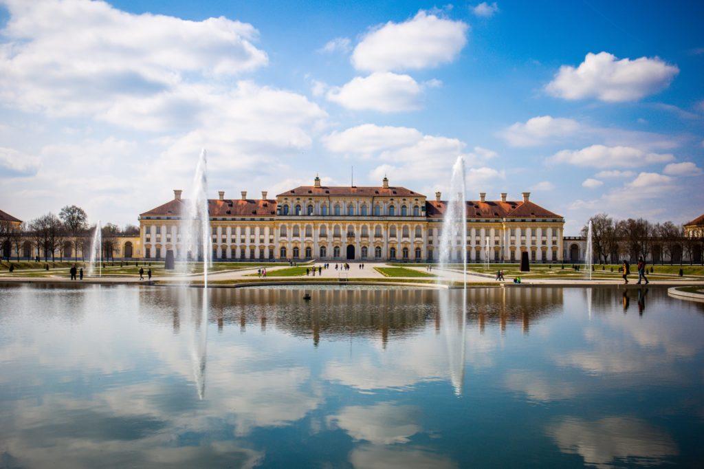 Schloss in Schleißheim München Bayern