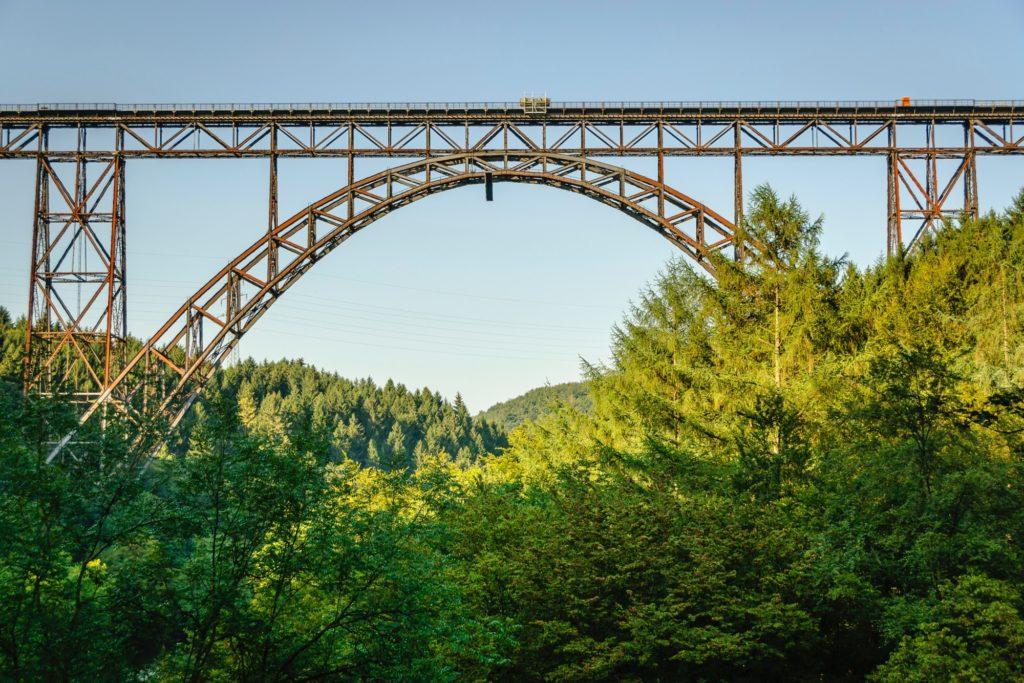 Brücke bei Solingen in NRW