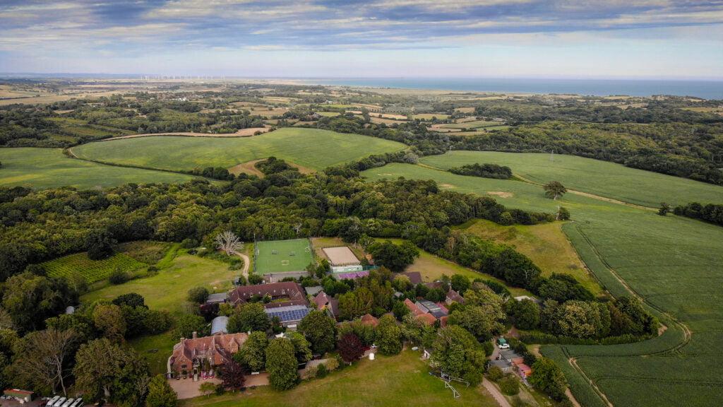 Panorama der Buckswood School