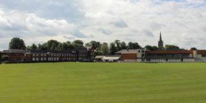 Oakham Internat wird bei gutem Wetter gezeigt