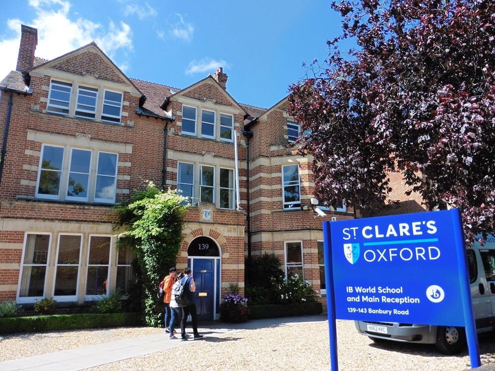 St Clare's College Oxford 35