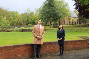 Akademis zu Besuch an einem englischen Internat